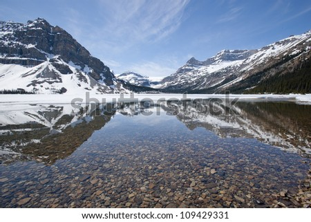 Emerald Lake at Banff National Park, Alberta, Canada - stock photo