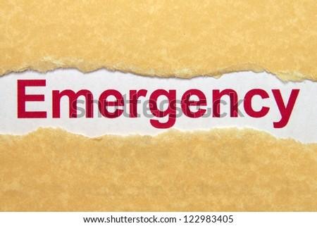 Emergency - stock photo