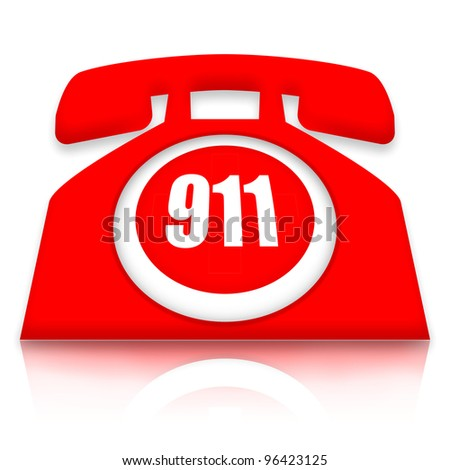 Emergency Phone - stock photo
