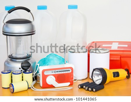 Emergency Preparation Equipment - stock photo