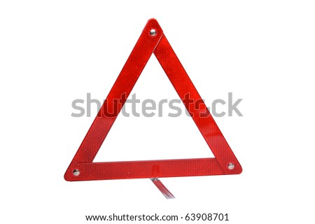 Emergency sign Warning Triangle