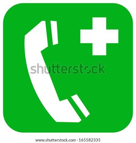 Emergency telephone Signal - stock photo
