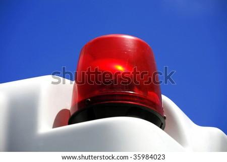 Emergency Vehicle Light - stock photo
