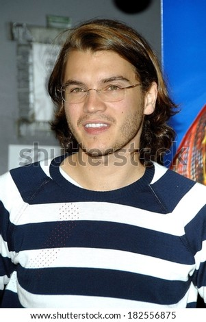 Emile Hirsch at SPEED RACER Premiere at the Closing Night of Tribeca Film Festival, Tribeca Performing Arts Center, BMCC TPAC,, New York, NY, May 03, 2008