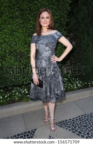 Emily Deschanel at The Rape Foundation's Annual Brunch, Private Location, Beverly Hills, CA 09-29-13