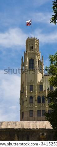 Emily Morgan Hotel in Downtown San Antonio, Texas. - stock photo