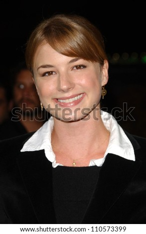 """Emily Vancamp at the Los Angeles Premiere of """"Things We Lost In The Fire"""". Egyptian Theatre, Hollywood, CA. 10-15-07 - stock photo"""