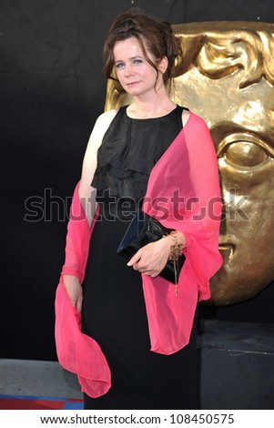 Emily Watson arriving for the BAFTA TV Awards 2012 at the Royal Festival Hall, South Bank, London. 27/05/2012 Picture by: Steve Vas / Featureflash