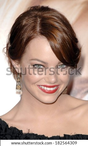 Emma Stone at Premiere of THE HOUSE BUNNY, Mann's Village Theatre in Westwood, Los Angeles, CA, August 20, 2008n