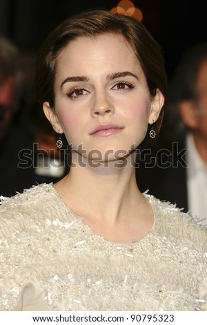"Emma Watson arriving for the ""My Week with Marilyn"" premiere at the Cineworld Haymarket, London. 20/11/2011  Picture by: Steve Vas / Featureflash"