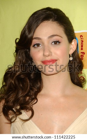 Emmy Rossum at the 2007 Giffoni Hollywood Festival Awards. Kodak Theatre, Hollywood, CA. 04-28-07