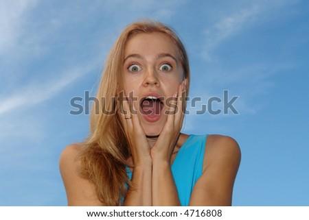 emotion - stock photo