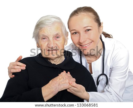 Emotional and psychological support after the loss of someone - stock photo