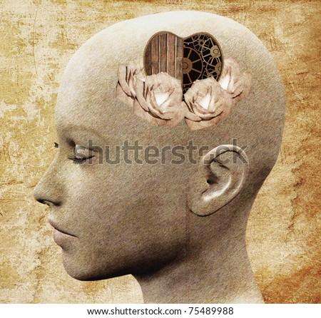 Emotional intelligence - stock photo
