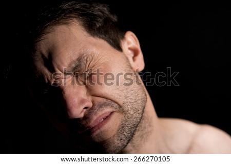 Emotional Pain - stock photo