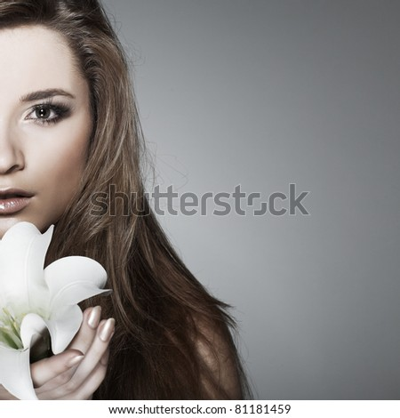 emotions, cosmetics - stock photo