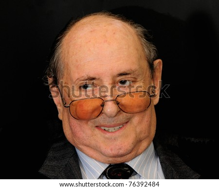 Emotions of an elderly men - stock photo
