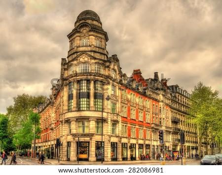 Empire House in London - United Kingdom - stock photo