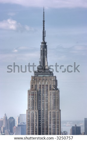Empire State Building, NYC where King Kong would visit - stock photo