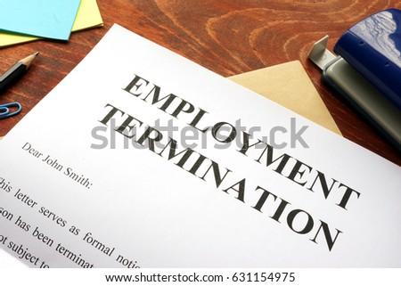 Stock options employment termination