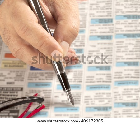 employment - stock photo