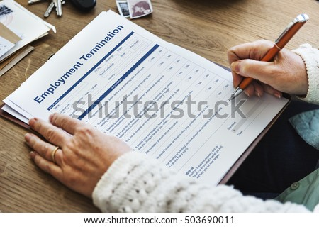 Termination Of Employment Stock Images, Royalty-Free Images