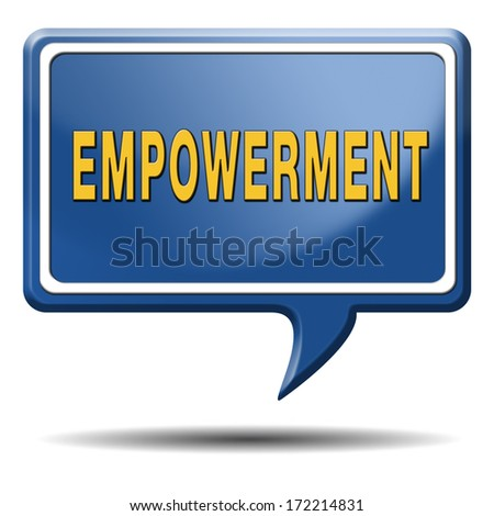 empowerment, raising consiousness for equal rights and opportunities increasing the spiritual, political, social, educational, gender, or economic strength of individuals communities raise awareness - stock photo