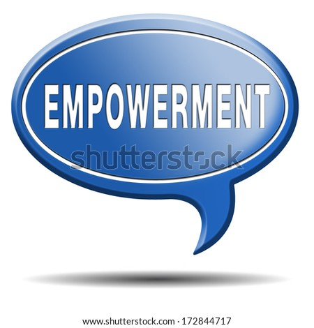 Empowerment Raising Consiousness Equal Rights Opportunities Stock