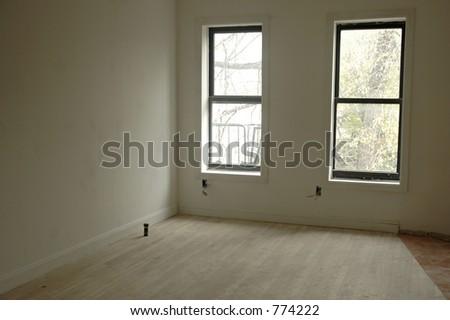 empty apartment - stock photo