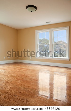 Empty Bedroom - stock photo
