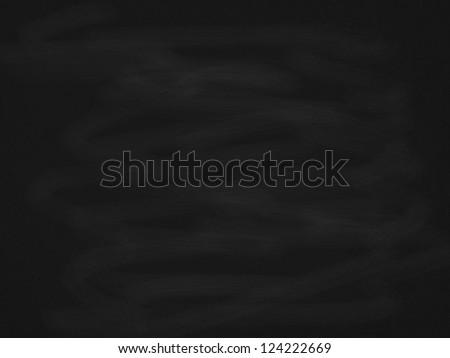 Empty black chalkboard background/texture illustration - stock photo