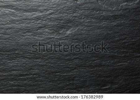 empty black stone background - stock photo