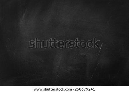 Empty Blackboard,/ Empty Blackboard - stock photo