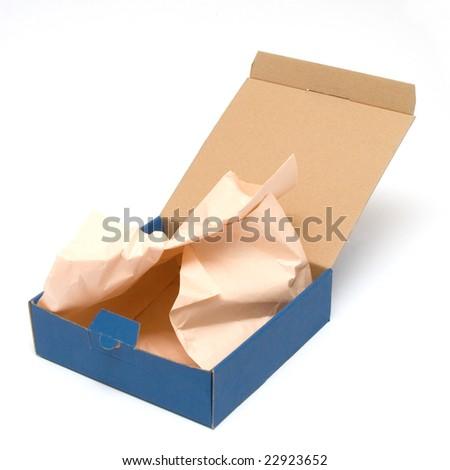 empty box - stock photo