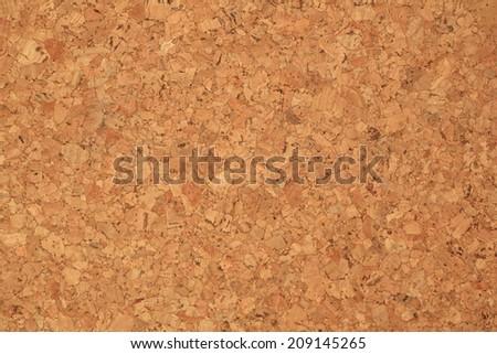 Empty Brown Cork Board Texture.  - stock photo