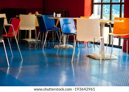 empty caffee - stock photo