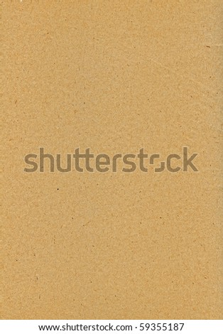 Empty cardboard texture - stock photo
