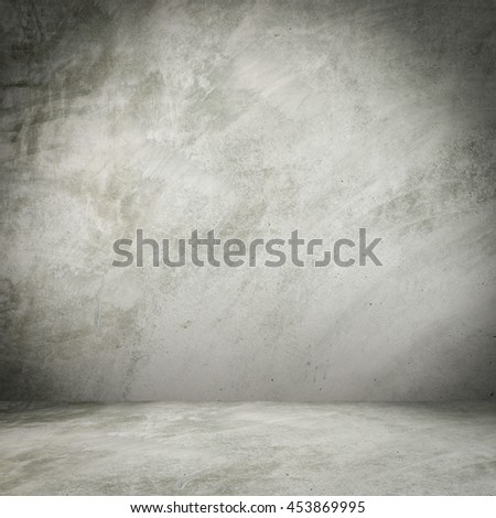 empty cement wall background and texture with space - stock photo