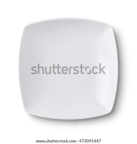 Empty Ceramic Round Plate Isolated On Stock Photo (Royalty Free) 473095447 - Shutterstock  sc 1 st  Shutterstock & Empty Ceramic Round Plate Isolated On Stock Photo (Royalty Free ...