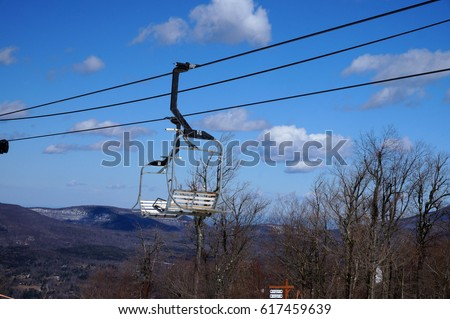 Empty Chair Lift