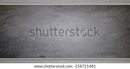 Empty chalkboard background - stock photo