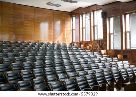 empty conference room for very important meetings - stock photo