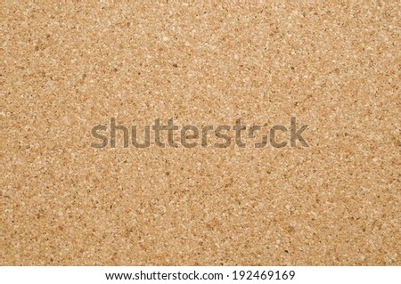 Empty Corkboard texture with brown color - stock photo