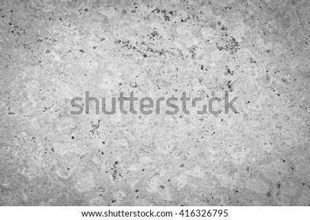 empty cracked stone wall background - stock photo