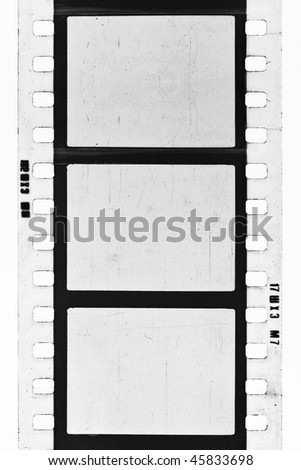 empty film strip, may use as a background - stock photo