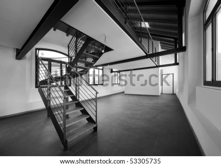 empty flat - stock photo