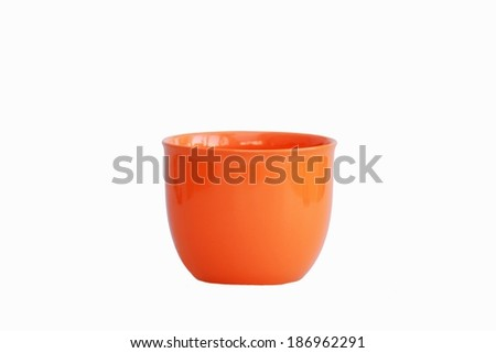 empty flowerpot - stock photo