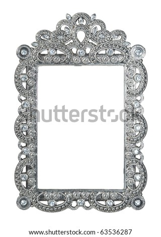 Empty frame - stock photo