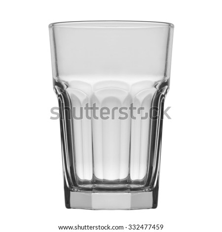 empty glass - stock photo