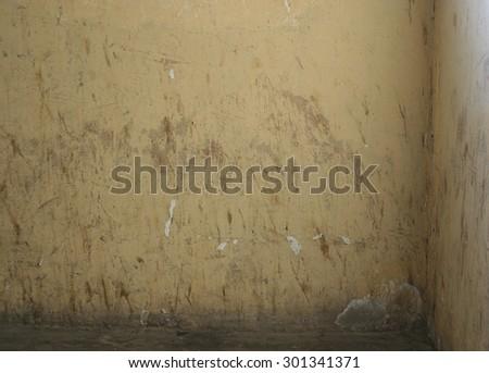 Empty grunge interior - stock photo